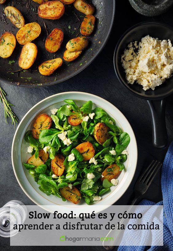 Slow food: qué es y cómo aprender a disfrutar de la comida