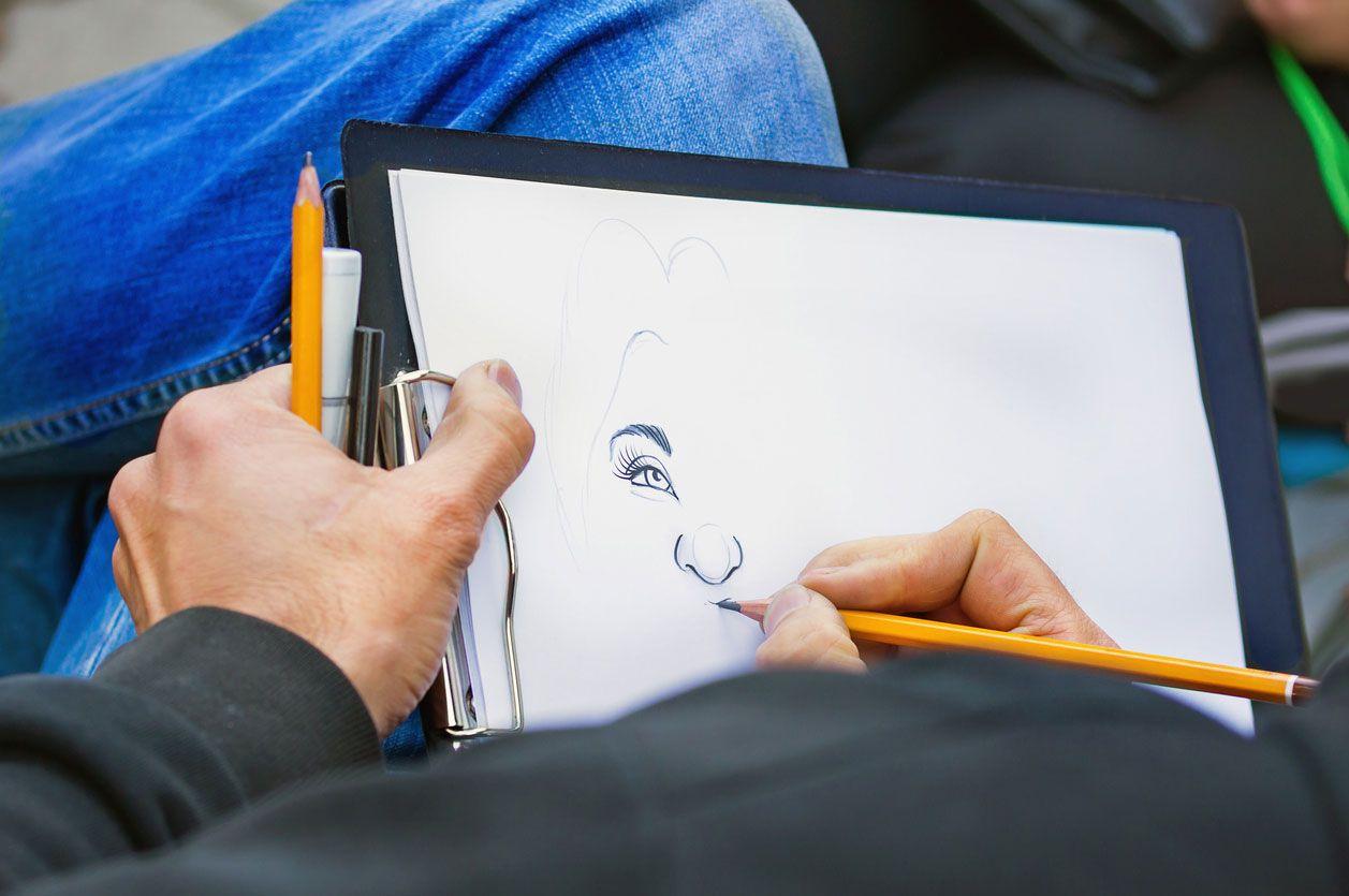 Dibujar solo cuando tengas ganas.