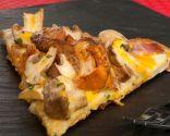 Receta de Pizza de setas, foie y yema de huevo