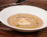 Receta de Crema de castañas con hongos