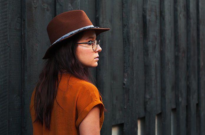 sombreros otoño invierno - fedora fieltro