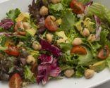 Receta de Ensalada de garbanzos, aguacate y cilantro