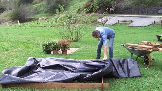 Cómo hacer un parterre piramidal - Paso 6