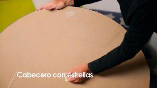 Cómo hacer un cabecero con estrellas - Paso 5