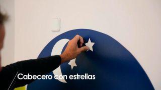 Cómo hacer un cabecero con estrellas - Paso 7