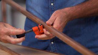 Cómo hacer un perchero de cobre - Paso 1