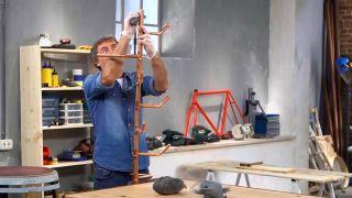 Cómo hacer un perchero de cobre - Paso 5