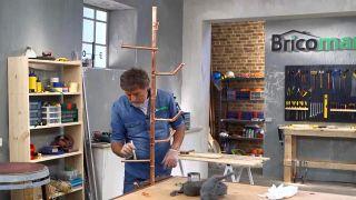 Cómo hacer un perchero de cobre - Paso 6