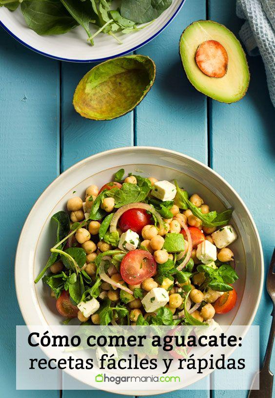 Cómo comer aguacate: recetas fáciles y rápidas