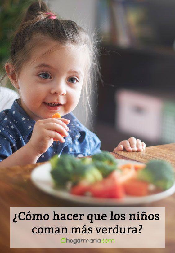 ¿Cómo hacer que los niños coman más verdura?