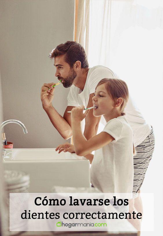 Cómo lavarse los dientes correctamente