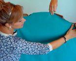 Tapizar sillón orejero con telas colores - paso 2