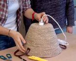 Crear lámparas techo con capazos - paso 3