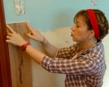 Decorar pared de cocina con friso madera roble - paso 3