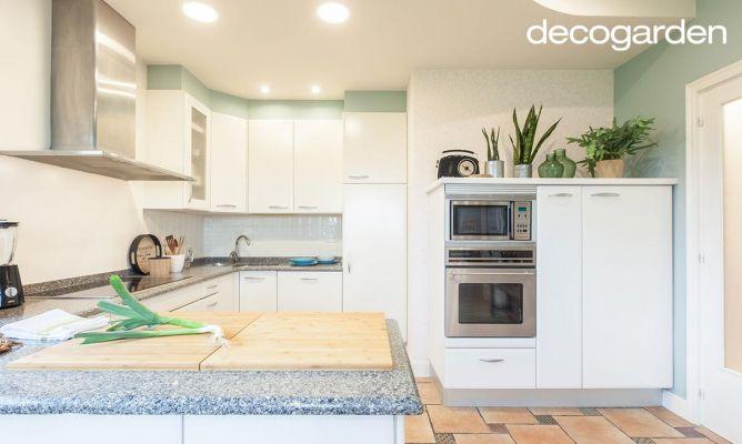 Cómo pintar los armarios de la cocina en blanco - Decogarden