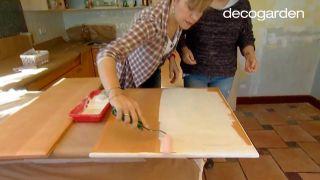 Cómo pintar los armarios de la cocina de blanco - Paso 3