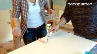Cómo pintar los armarios de la cocina de blanco - Paso 4