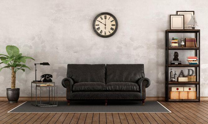 Cómo Combinar Un Sofá Negro Hogarmania