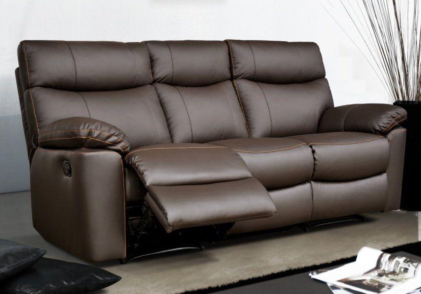 Sofá relax eléctrico de tela – Modelo SHARONA de Conforama
