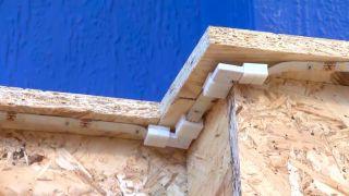 Decorar pared de dormitorio con friso de OSB iluminado - paso 5
