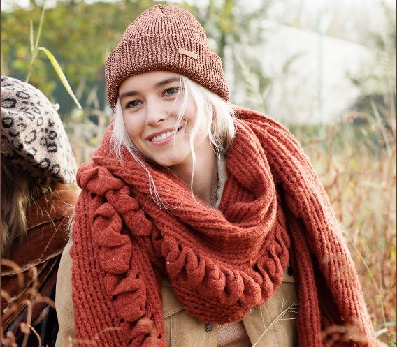 sombreros otoño invierno - gorro brillante