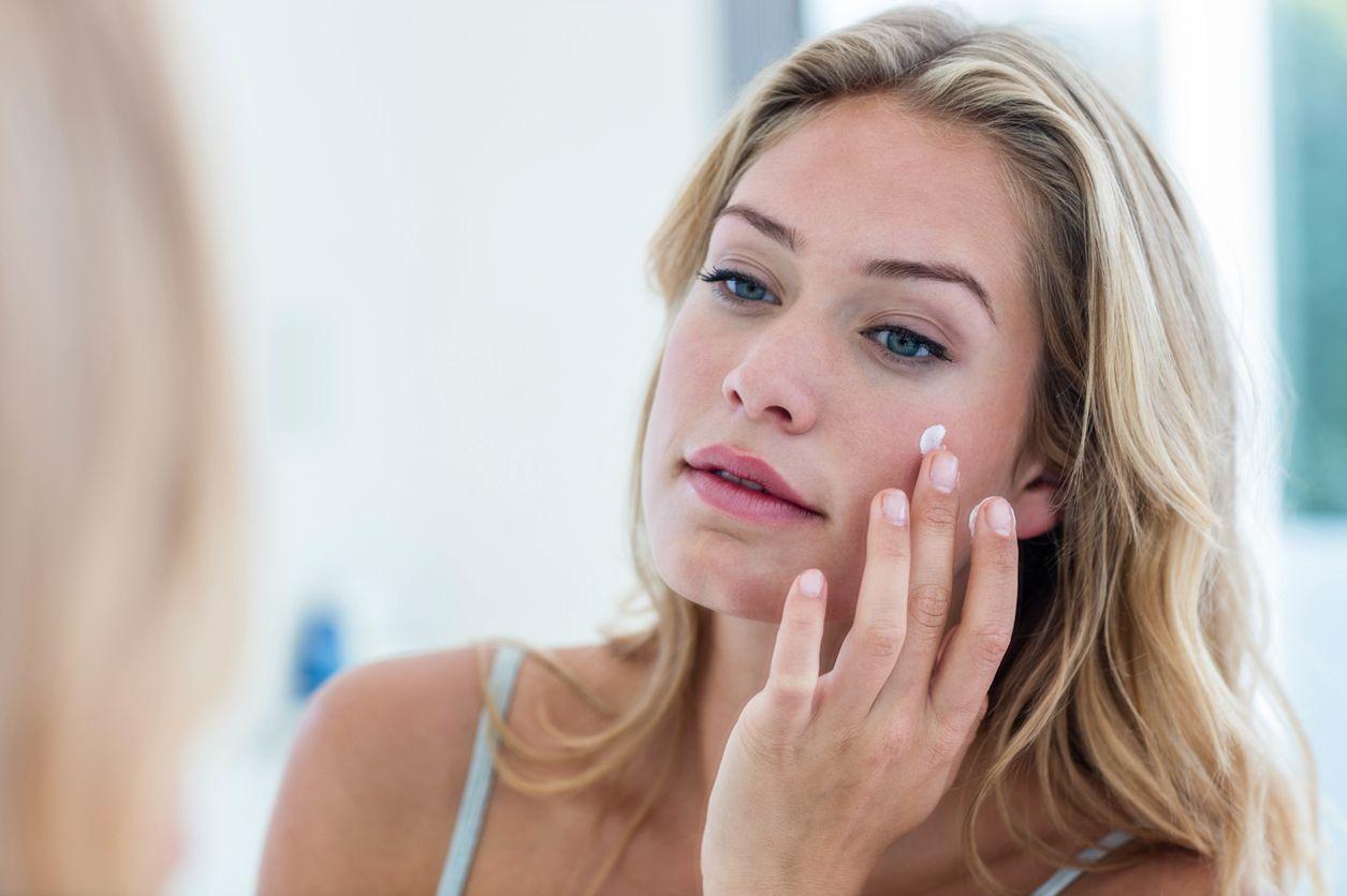 Crema hidratante para pieles sensibles.