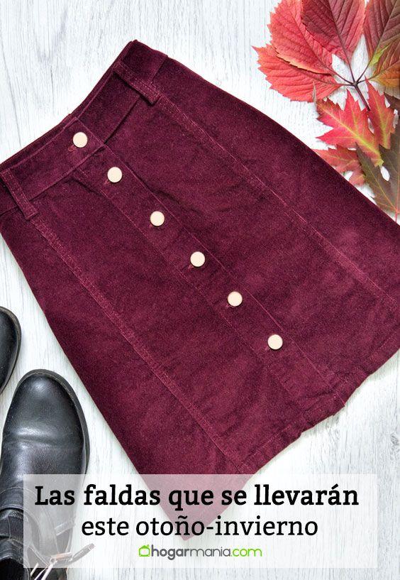 Las faldas que se llevarán este otoño-invierno