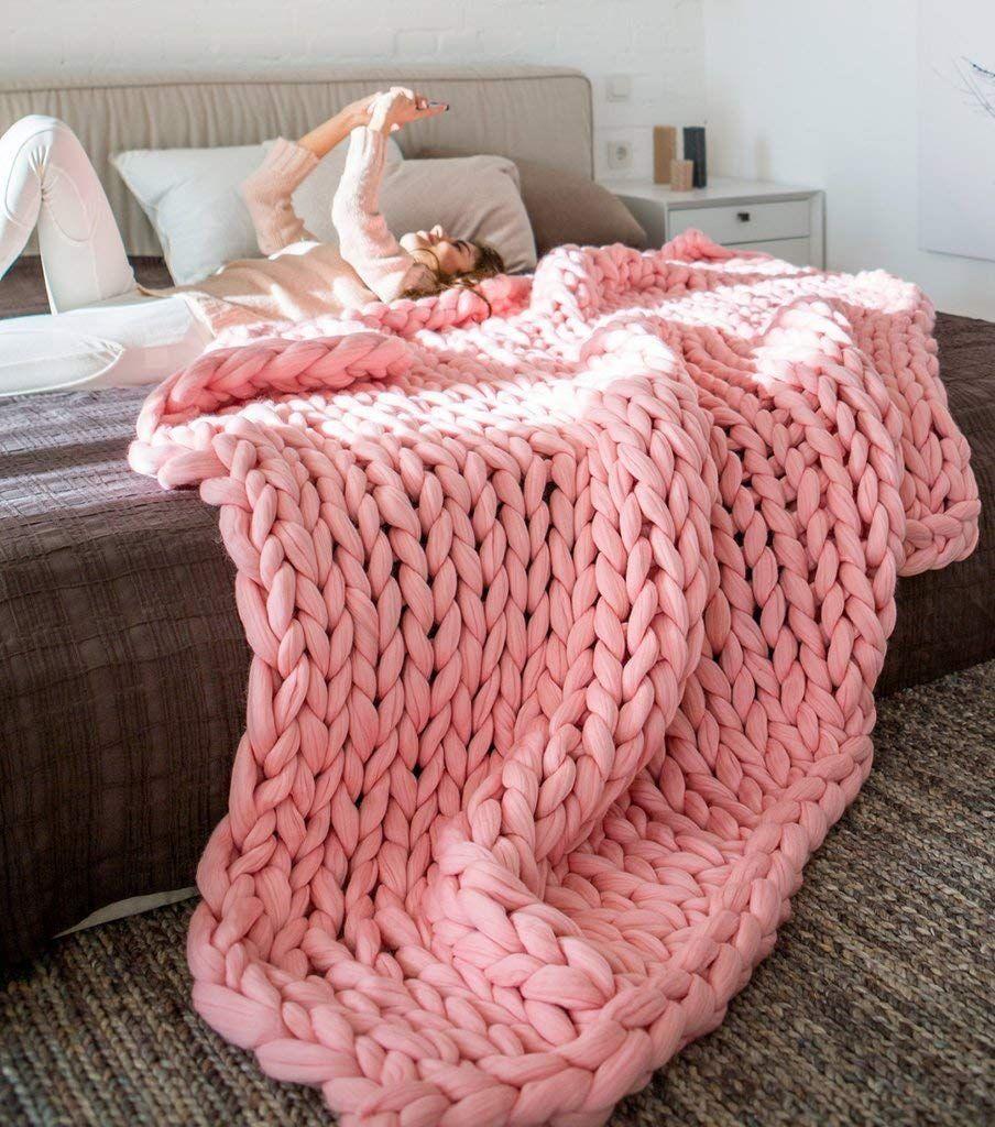 manta de lana XL colcha cama