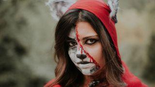 Middle Face Makeup: Maquillajes de media cara para Halloween (Fácil)