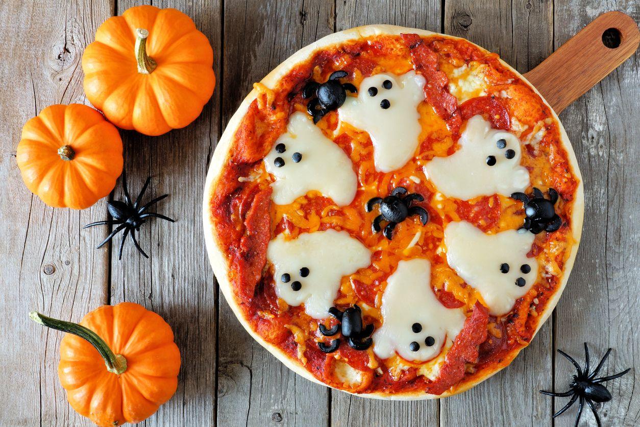 Pizza fantasma.