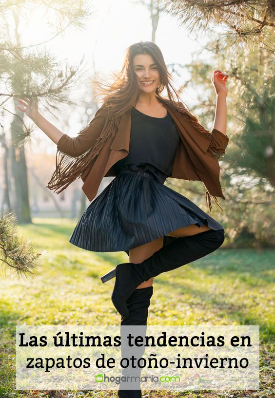 Las últimas tendencias en zapatos de otoño-invierno