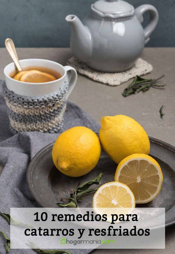 10 remedios para catarros y resfriados