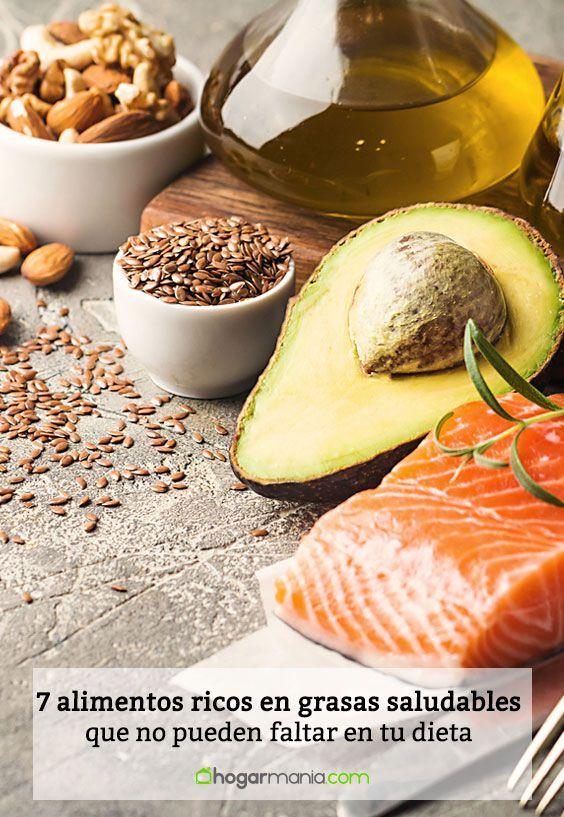 7 alimentos ricos en grasas saludables que no pueden faltar en tu dieta