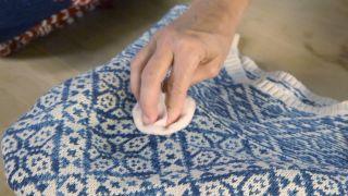Cómo lavar la lana - Paso 2