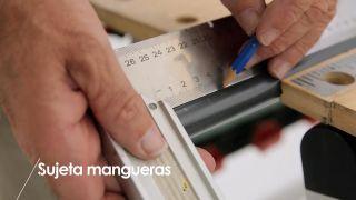 Cómo hacer un sujeta-mangueras- Paso 1