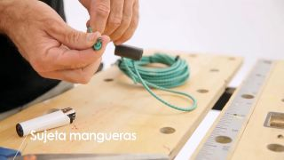 Cómo hacer un sujeta-mangueras - Paso 4