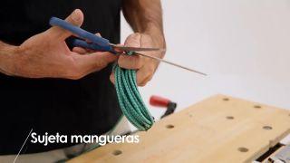 Cómo hacer un sujeta-mangueras - Paso 3