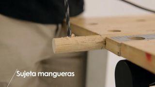 Cómo hacer un sujeta-mangueras - Paso 5