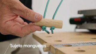 Cómo hacer un sujeta-mangueras - Paso 6