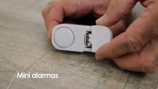 Cómo colocar mini-alarmas en los armarios - Paso 1