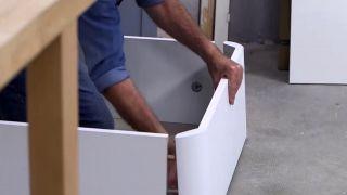 Cómo hacer un canapé zapatero - Paso 1