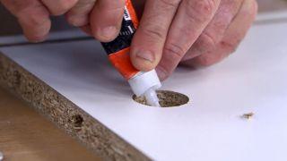 Cómo hacer un canapé zapatero - Paso 2