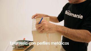 Cómo hacer una estantería con perfiles metálicos - Paso 4