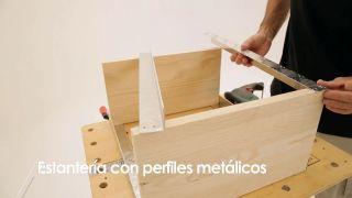Cómo hacer una estantería con perfiles metálicos - Paso 6