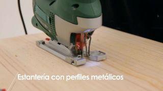 Cómo hacer una estantería con perfiles metálicos - Paso 1