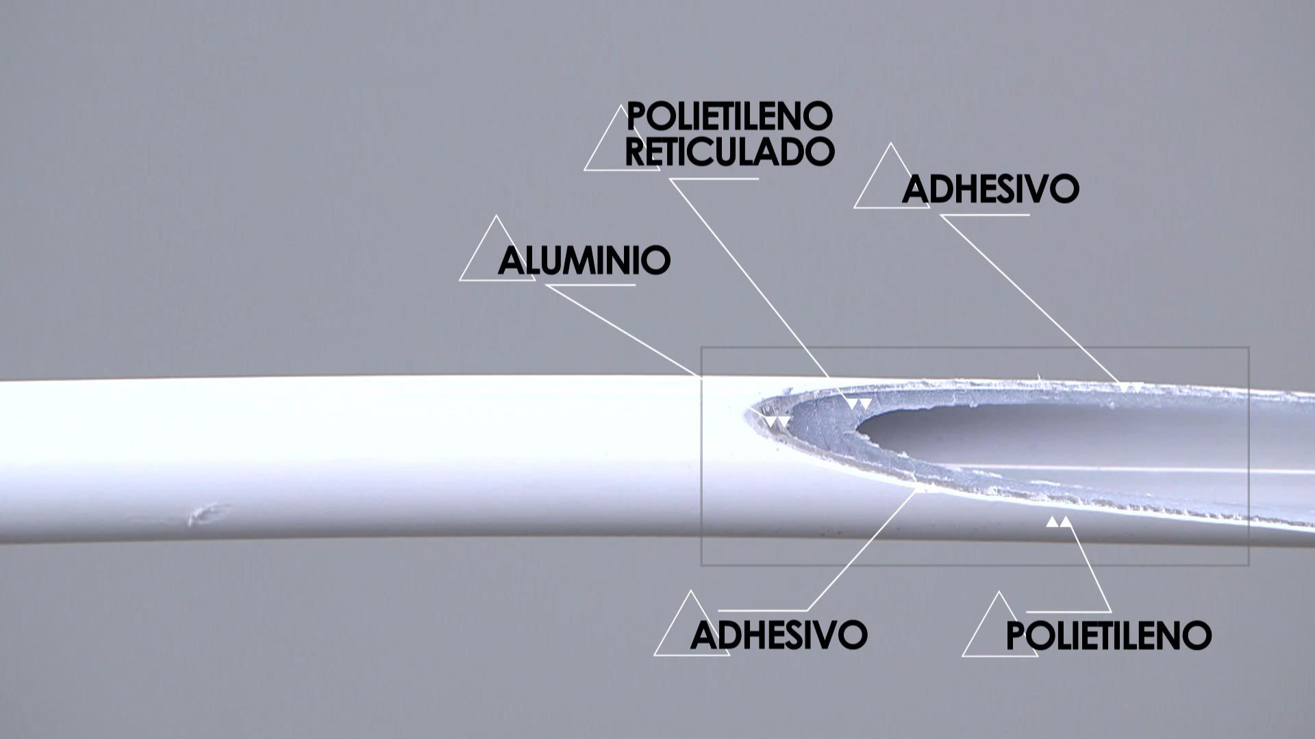 Tubo multicapa