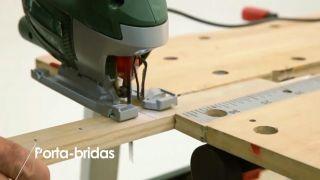 Cómo construir un porta-bridas - Paso 1