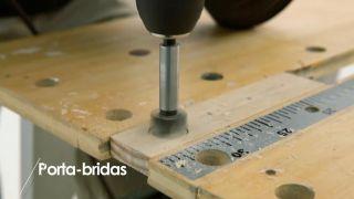 Cómo construir un porta-bridas - Paso 2