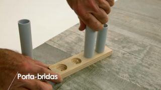 Cómo construir un porta-bridas - Paso 4