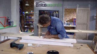 Cómo hacer una lámpara con un listón de madera - Paso 8